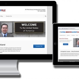Responsive Design – Attorney Website