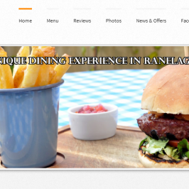Responsive WordPress for Restaurant in Ireland