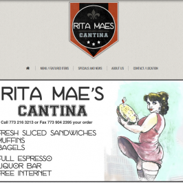 Vintage Restaurant Web Design