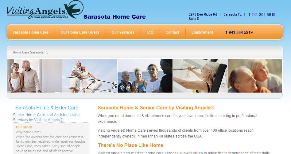 Sarasota FL Startup gets Website Design