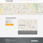 responsive google maps web page sample