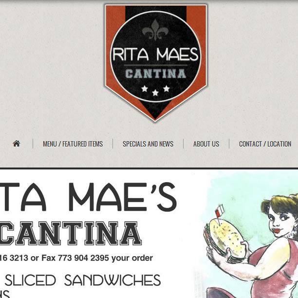 Vintage Restaurant Web Design