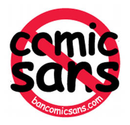 Ban the Comic Sans Font?