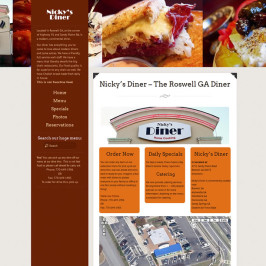 Restaurant Website Redesign