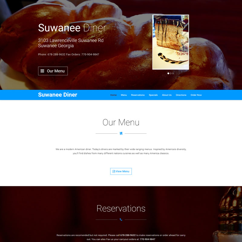 Small Restaurant Opening