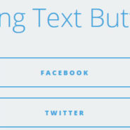 Sliding Text Buttons