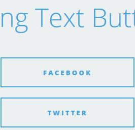 Sliding Text Buttons